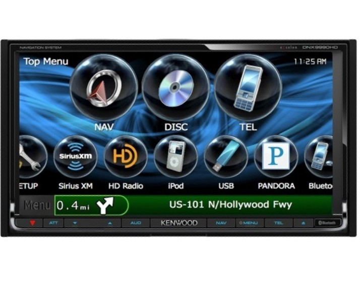 Kenwood DNX9990HD Parts and Accessories on