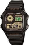 CASIO AE1200WH-1BV Time Piece Division: World Time Illuminator Watch replacement parts list